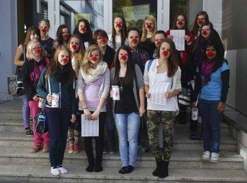 Rote Nasen - Straßensammlung 2013