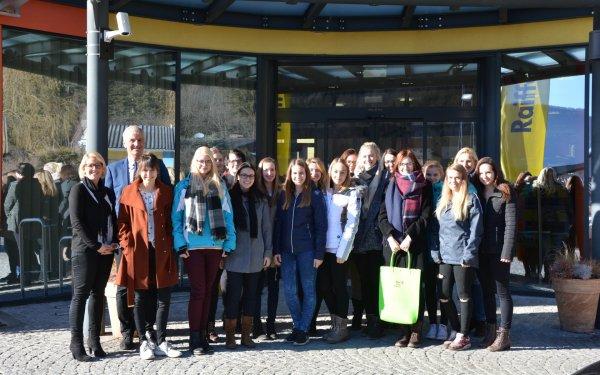 Exkursion Raiffeisenbank Murau