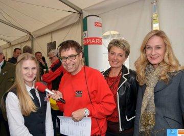 Schülerinnen der HLW-Murau auf Radio Steiermark