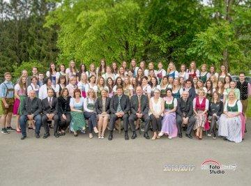 Fotos der Abschlussklassen