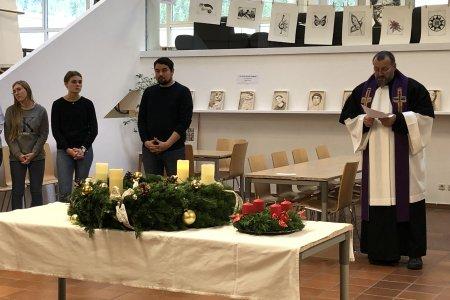 Adventkranzweihe am Fr., 29.11.2019