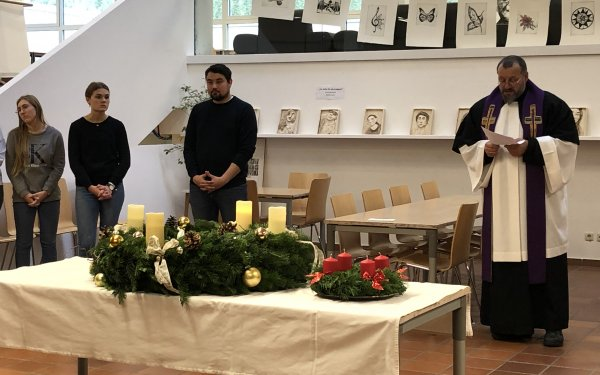 Adventkranzweihe am Fr., 29.11.2019