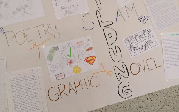 Poetry Slam der 5A