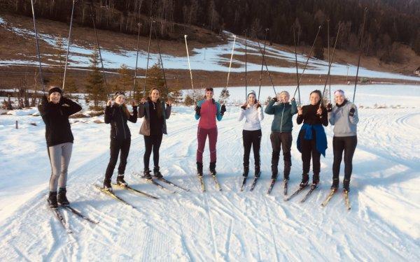 Langlaufen und Biathlon